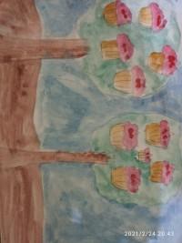 Пирожные на деревьях