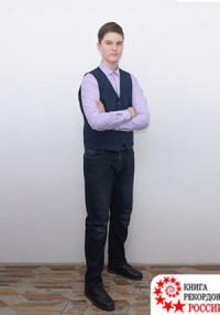 Иркутский школьник - самый высокий подросток
