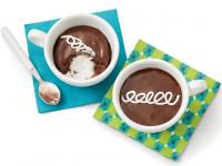 Шоколадные кексы с маршмэллоу в кружке