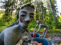 Идеальный парк скульптур Вейё Рёнккёнэна