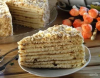 Рецепт вкусного торта на сковородке