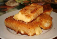 Горячий сыр в кляре