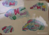 Конфеты в облаках