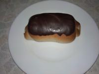 Глазированные пирожки со сгущенкой.