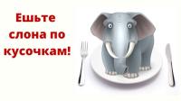Разрезать слона на бифштексы?!