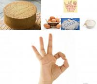 Самый простой бисквит из трех ингредиентов