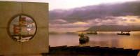 Памятник затопленным кораблям г. Новороссийск